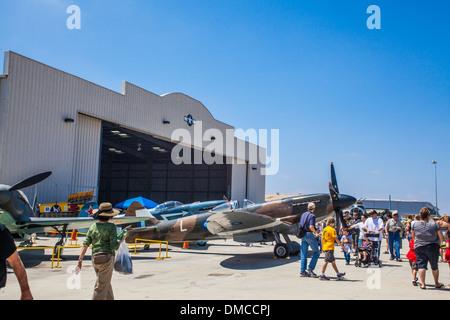 at The Wings over Camarillo Air Show In Camarillo California - Stock Photo