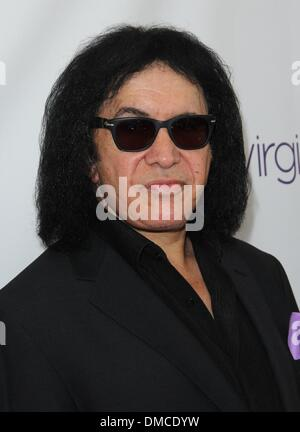 Los Angeles, California, USA. 13th Dec, 2013. Gene Simmons attends BABC 54th Annual Christmas Luncheon on 13th December - Stock Photo