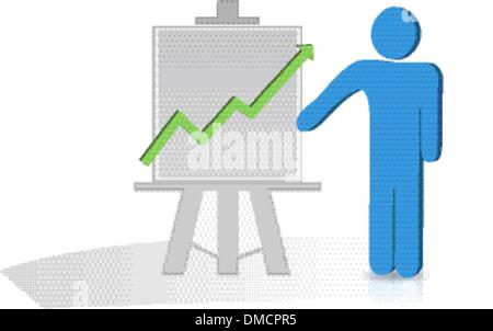 Graph Chart - Stock Photo
