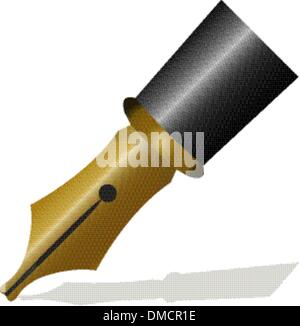 writing pen head - Stock Photo