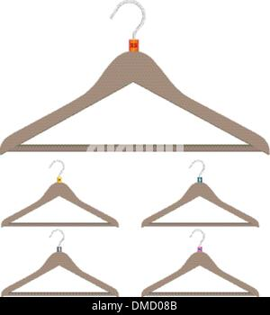 A set of hangers - Stock Photo