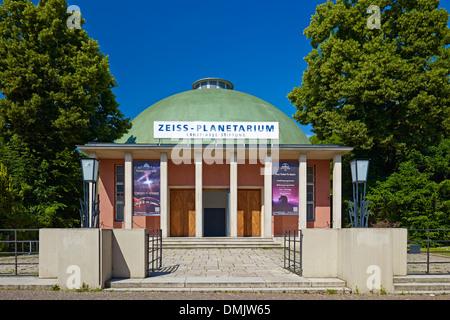 Zeiss Planetarium in Jena, Thuringia, Germany - Stock Photo