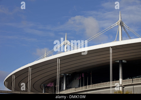 STADE DE FRANCE, THE BIGGEST STADIUM IN FRANCE, BUILT BETWEEN 1995 AND 1998 TO MEET THE NEEDS OF THE SOCCER WORLD - Stock Photo