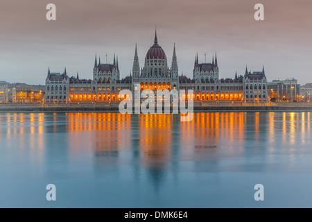 Parliament building, Budapest - Stock Photo