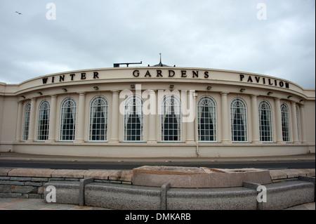 Winter Gardens Pavilion Weston-Super-Mare UK - Stock Photo
