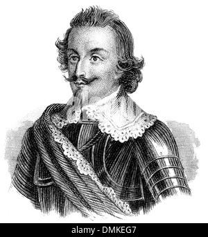 Gottfried Heinrich Graf zu Pappenheim, 1594 - 1632, - Stock Photo