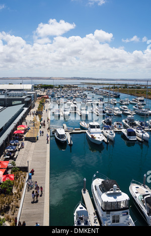 Queenscliff marina - Stock Photo