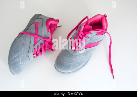 Pair of female sneakers. - Stock Photo