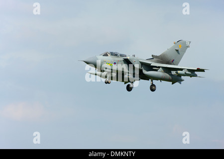 Panavia Tornado GR4 ZA472 031 landing at RAF Conningsby - Stock Photo