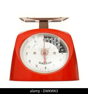 Vintage 1960's Salter 'Duet' manual kitchen weighing scales - Stock Photo