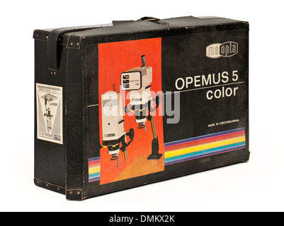 Vintage Meopta Opemus 5 darkroom enlarger with MEOCHROM colour head (35mm / 6x6 film)