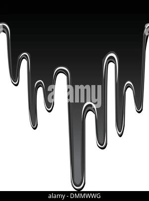 dripping oil seamless background - Stock Photo