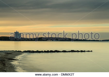Germany, Baltic Sea, Bay of Luebeck in the morning - Stock Photo