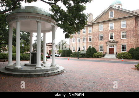 Oct. 10, 2009 - Chapel Hill, North Carolina, U.S - October 10, 2009: UNC-Chapel Hill's most identifying feature, - Stock Photo