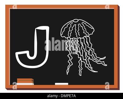 Animal alphabet J - Stock Photo