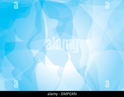 Blue background watercolor painting - Stock Photo