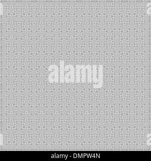 grey puzzle background - Stock Photo
