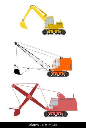 Excavator. - Stock Photo