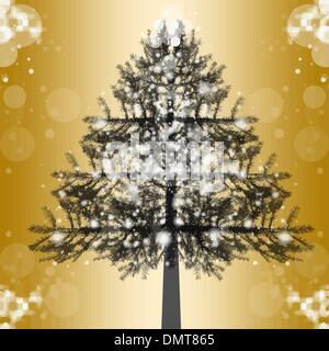 Christmas Tree - Stock Photo
