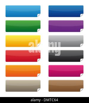 Colorful labels - Stock Photo