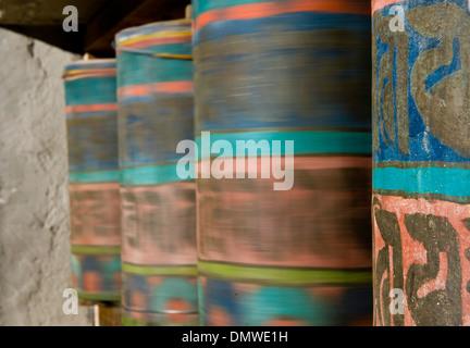 Namche Gompa (Monastery), Namche Bazaar, Solu Khumbu Region, Himalaya, Nepal - Stock Photo