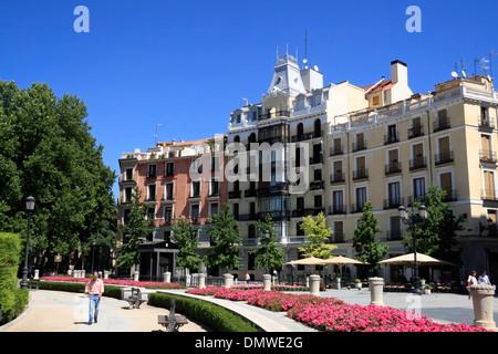 Plaza de Oriente, Madrid Spain - Stock Photo