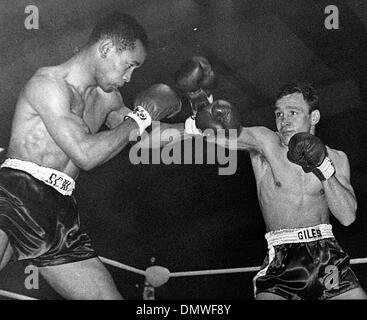Feb. 22, 1961 - London, England, U.K. - DAVE CHARNLEY was an English lightweight boxer. Known as 'The Dartford Destroyer' - Stock Photo