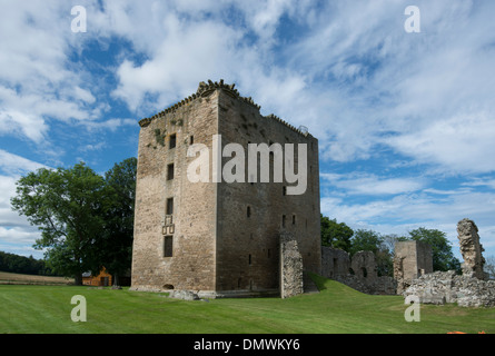spynie palace historic scotland near elgin moray buchan - Stock Photo
