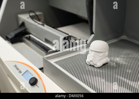 3D model making machine/printer with models Stock Photo: 64495118