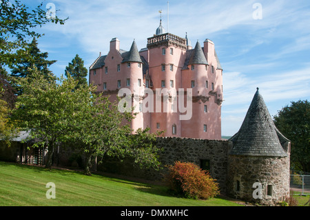 craigievar castle royal deeside scottish castle - Stock Photo
