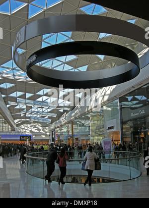 Westfield Shopping Centre, Shepherds Bush, London W12 - Stock Photo