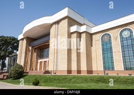 National Arts Centre, Ozbek Liboslari Galereyasi, Tashkent, Uzbekistan - Stock Photo