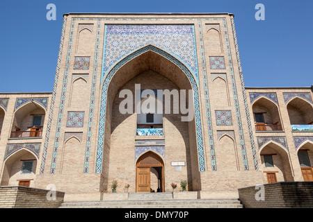 Kukeldash Madrasah, also known as Kukaldosh Madrasah, Tashkent, Uzbekistan - Stock Photo