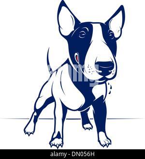Bull Terrier - Stock Photo