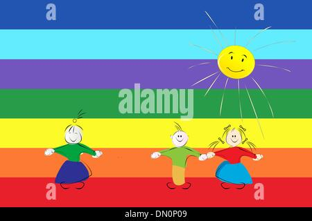 Peace flag - Stock Photo