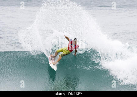 Mar 02, 2006; Snapper Rocks, Coolangatta, Queensland, AUSTRALIA; Australian and current ASP word number five ranked - Stock Photo