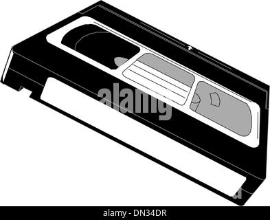 Vhs Video Tape - Stock Photo
