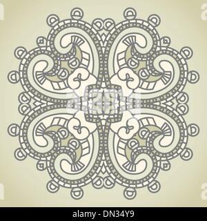 Vector square decorative design element - Stock Photo