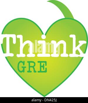 think green - Stock Photo