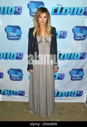 Los Angeles, CA, USA. 18th Dec, 2013. Ashley Tisdale at arrivals for CLOUD 9 Premiere, Burbank, Los Angeles, CA - Stock Photo