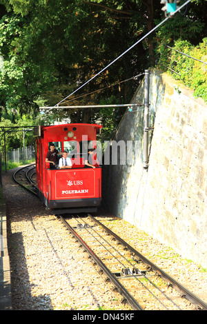 Switzerland, Zurich,Polybahn to University - Stock Photo