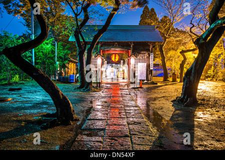 Atago Shrine in Sendai, Japan. - Stock Photo