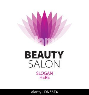 Beauty salon vector logo design template cosmetics or for Abstract beauty salon