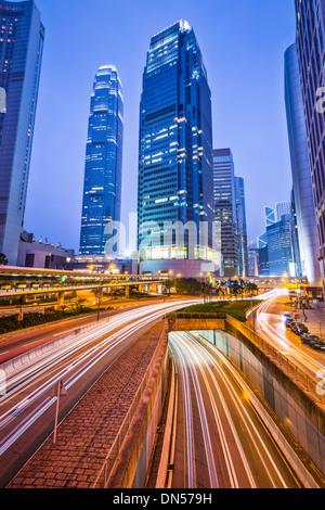 International Financial Center of Hong Kong, China. - Stock Photo