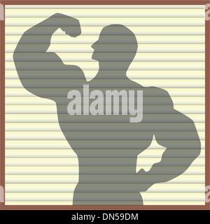 Bodybuilder - Stock Photo