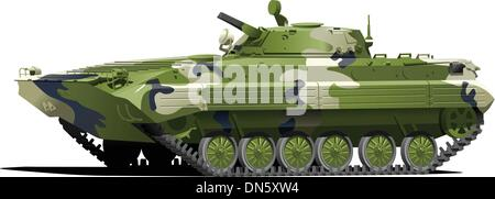 Infantry fighting vehicle - Stock Photo