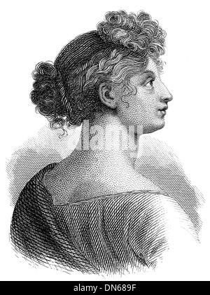 Louise of Mecklenburg-Strelitz, 1776–1810, queen consort of Prussia, - Stock Photo