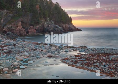 Sunrise At Hunters Beach - Stock Photo