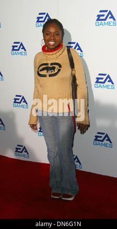 Nov. 8, 2002 - Hollywood, CALIFORNIA, USA - SICILY               ..EA GAMES GIVE A PARTY AT RALEIGH STUDIOS     - Stock Photo