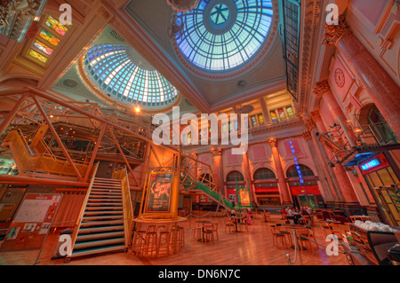 Manchester Royal Exchange Theatre Interior England UK - Stock Photo